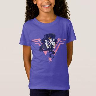 Justice League | Wonder Woman & Symbol Pop Art T-Shirt