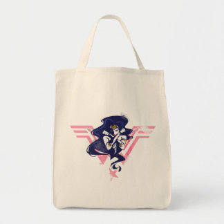 Justice League | Wonder Woman & Symbol Pop Art Tote Bag