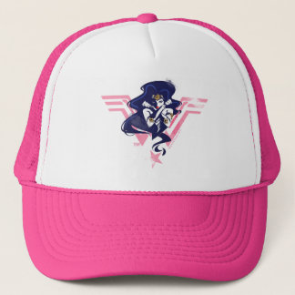 Justice League | Wonder Woman & Symbol Pop Art Trucker Hat