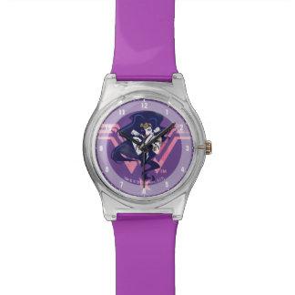Justice League   Wonder Woman & Symbol Pop Art Watch