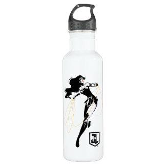 Justice League | Wonder Woman With Lasso Pop Art 710 Ml Water Bottle