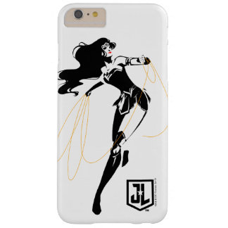 Justice League | Wonder Woman With Lasso Pop Art Barely There iPhone 6 Plus Case