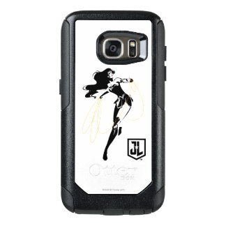 Justice League | Wonder Woman With Lasso Pop Art OtterBox Samsung Galaxy S7 Case