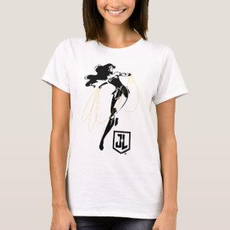 Justice League | Wonder Woman With Lasso Pop Art T-Shirt