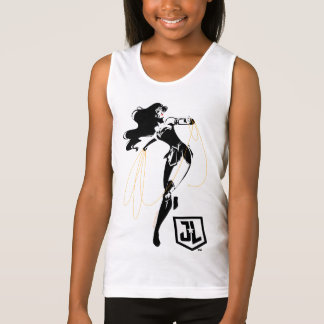 Justice League | Wonder Woman With Lasso Pop Art Tank Top