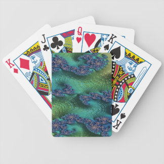 Justice of Fate Fractal Bicycle Playing Cards