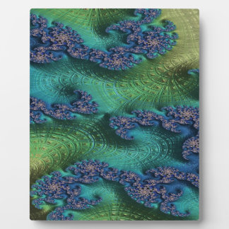 Justice of Fate Fractal Plaque