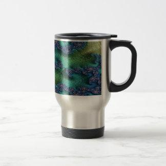 Justice of Fate Fractal Travel Mug