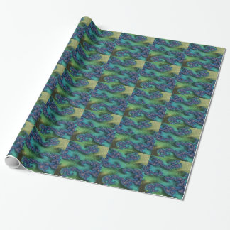 Justice of Fate Fractal Wrapping Paper