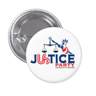 Justice Party 1 Inch Round Button