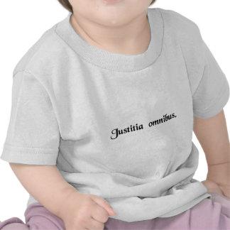Justice pour tous t-shirt