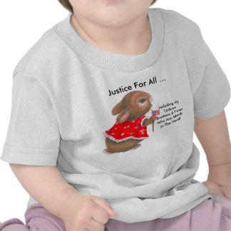 """""""Justice pour tout le"""" T-shirt d'enfant en bas âge"""