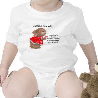 """""""Justice pour toute la"""" plante grimpante infantile Body Pour Bébé"""