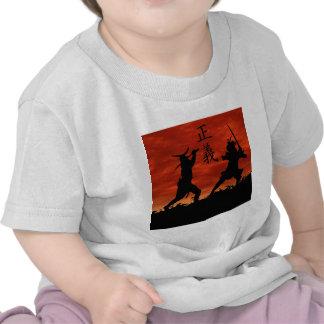 Justice samouraï t-shirts