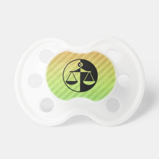 Justice Scales Baby Pacifiers