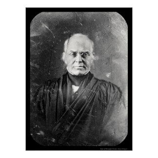 Justice Story Daguerreotype 1844 Poster