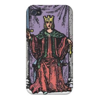"""""""Justice"""" Tarot Card iPhone4 Case iPhone 4 Case"""