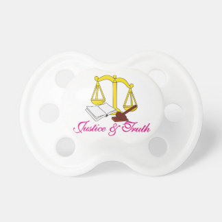Justice & Truth Pacifier