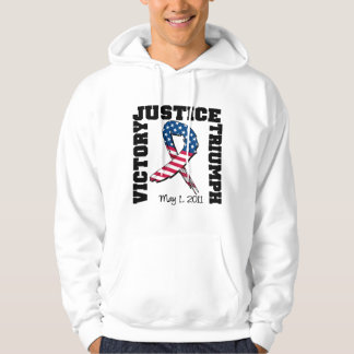 Justice Victory Triumph May 1 2011 Hoodie