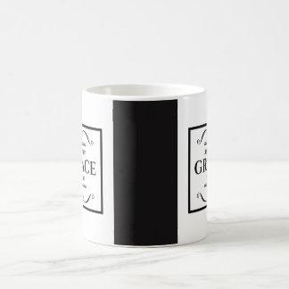 'Justified by Grace' coffee mug