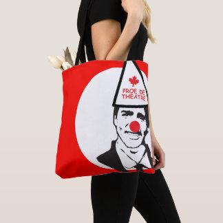 Justin Prof de Théâtre CLown Canada Francais Tote Bag