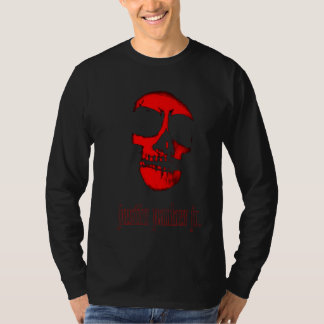Justin Skull Long Sleeve T-Shirt