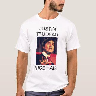 Justin Trudeau - cheveux intéressants T-shirt