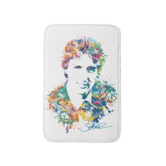 Justin Trudeau Digital Art Bathroom Mat