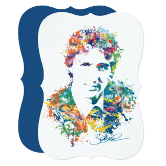 Justin Trudeau Digital Art Card