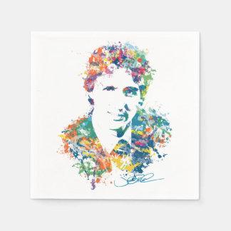Justin Trudeau Digital Art Paper Napkin