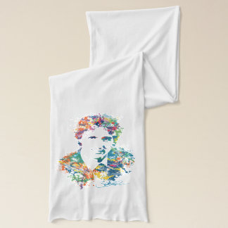 Justin Trudeau Digital Art Scarf