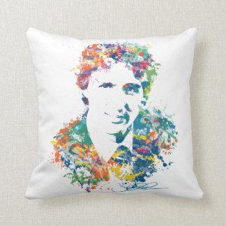 Justin Trudeau Digital Art Throw Pillow