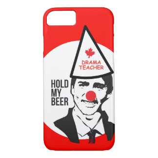 Justin Trudeau Hold my Beer Clown Canada iPhone 8/7 Case