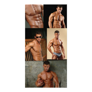 Justin Woltering Bodybuilder & Fitness Model Photo Card
