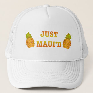 JustMauidPineapple Trucker Hat