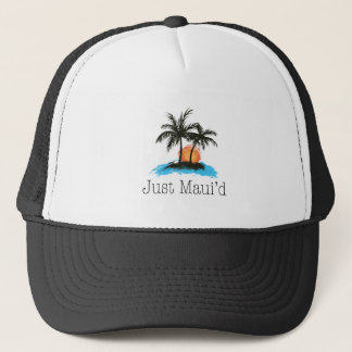 JustMauidTropical Just Maui'd Trucker Hat