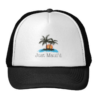 JustMauidTropical Just Maui'd Trucker Hat