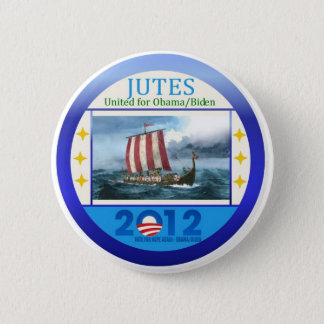 Jutes United for Obama Biden 2012 2 Inch Round Button