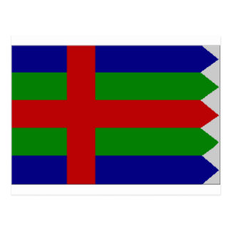 Jutland (Denmark) Flag Postcard
