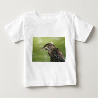 Juvenile Black Crowned Night Heron Baby T-Shirt