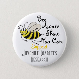 Juvenile Diabetes Awareness - Pin