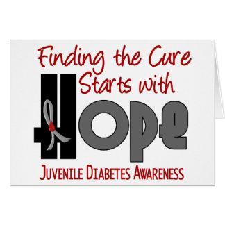 Juvenile Diabetes HOPE 4 Card