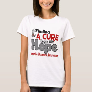 Juvenile Diabetes HOPE 5 T-Shirt