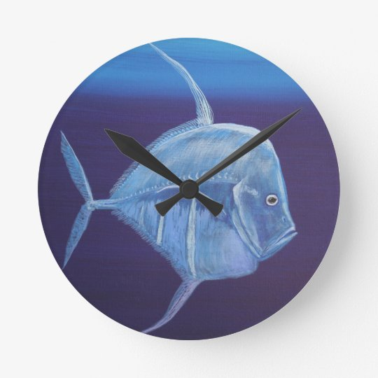 Juvenile Look down fish. Wallclock