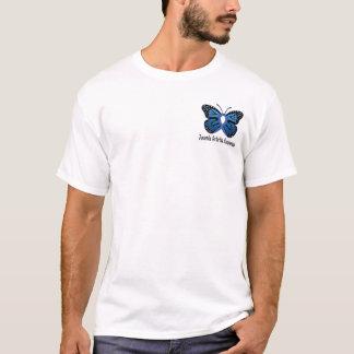 Juvenile Rheumatoid Arthritis Butterfly Ribbon T-Shirt