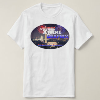 "JXG ""An American Business"" White T-shirt"