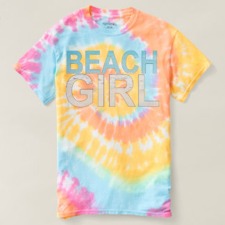 "JXG ""BEACH GIRL"" TIE-DYE T-SHIRT"