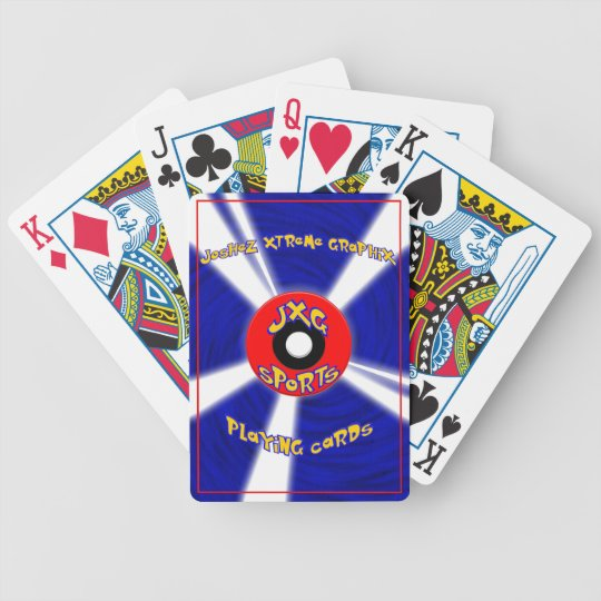 JXG Popular Card Game themed Bicycle Playing Cards