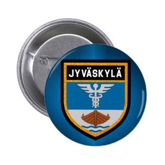 Jyväskylä Flag 2 Inch Round Button