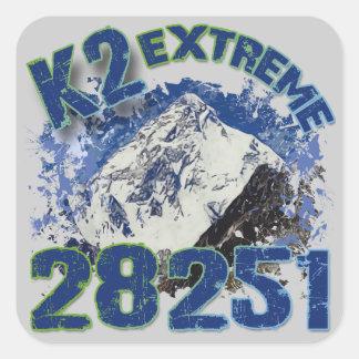 K2 Extreme 28251 Square Sticker